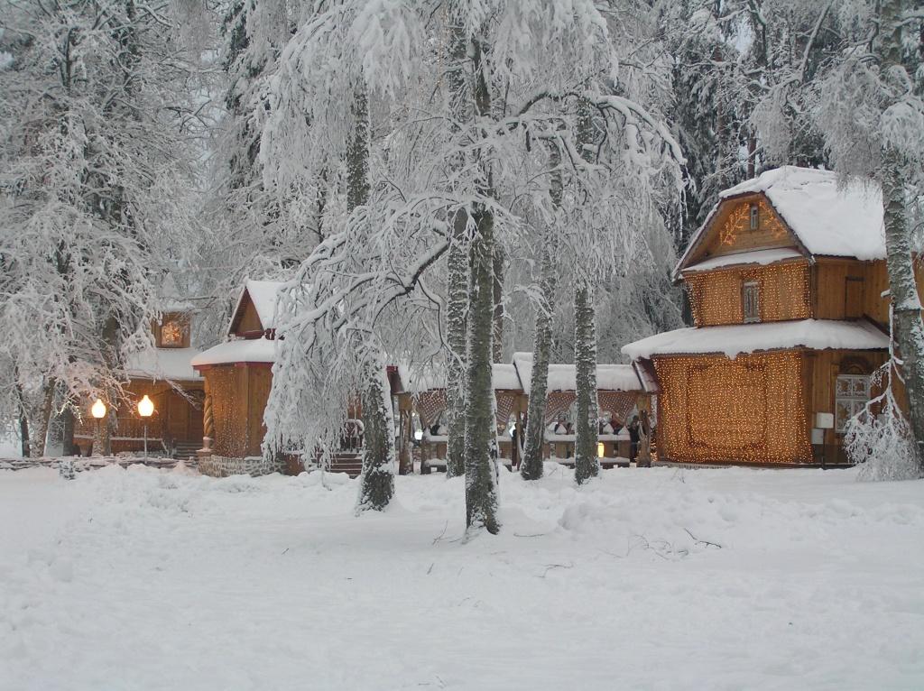 беловежская пуща резиденция деда мороза